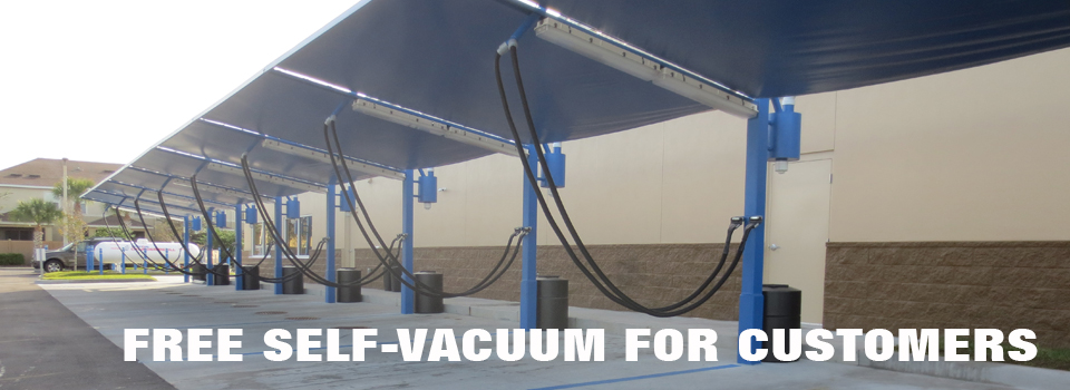 Free self-vacuum for customers